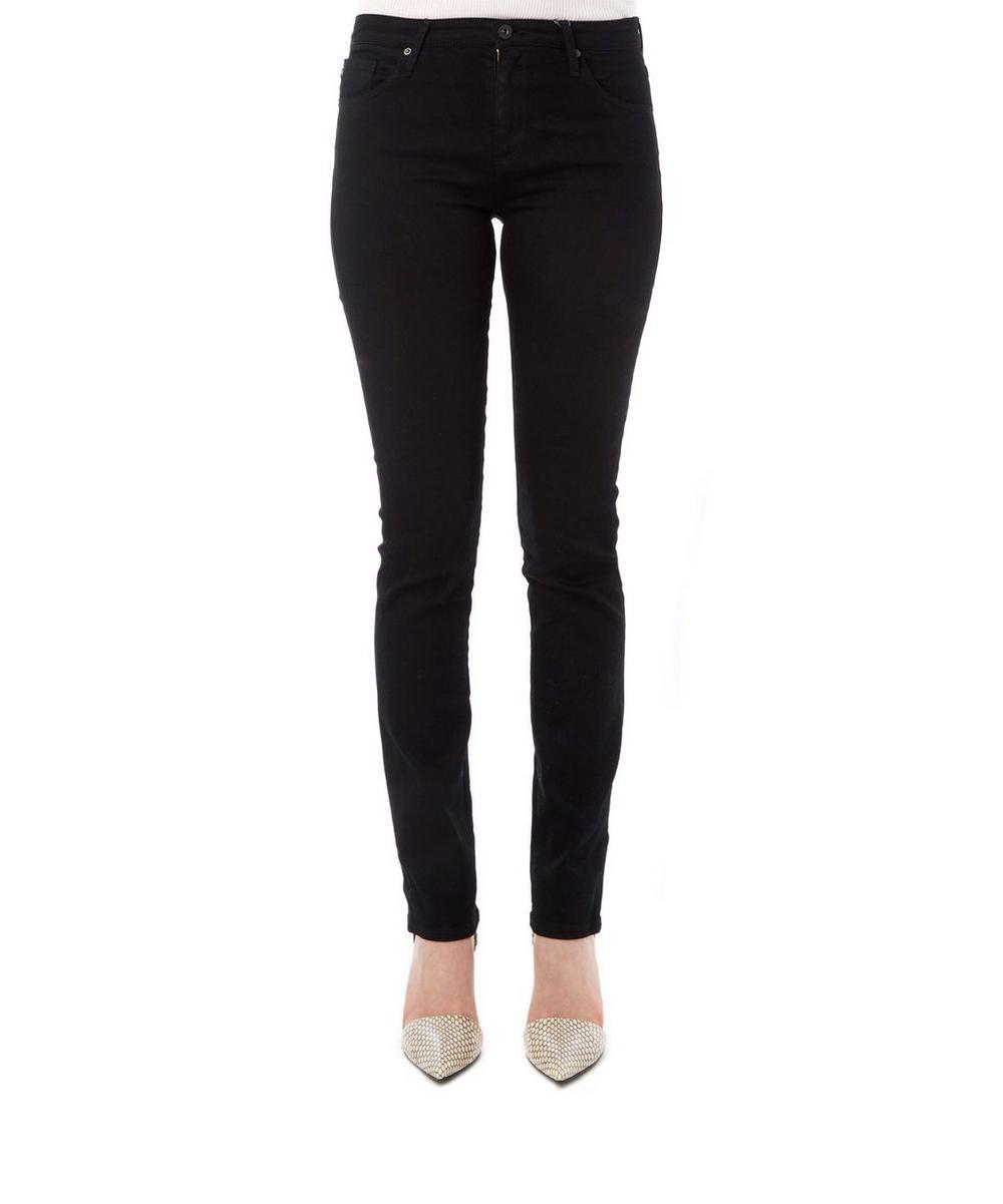 Harper Mid-Rise Slim Straight Jeans