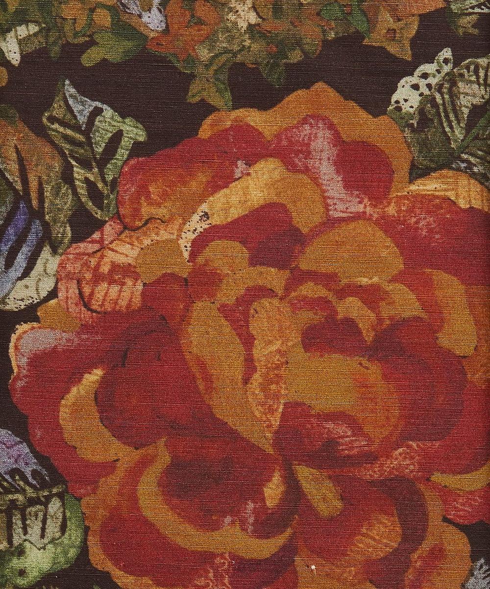 Jeffrey Rose Tree Silk Linen in Wild Pony