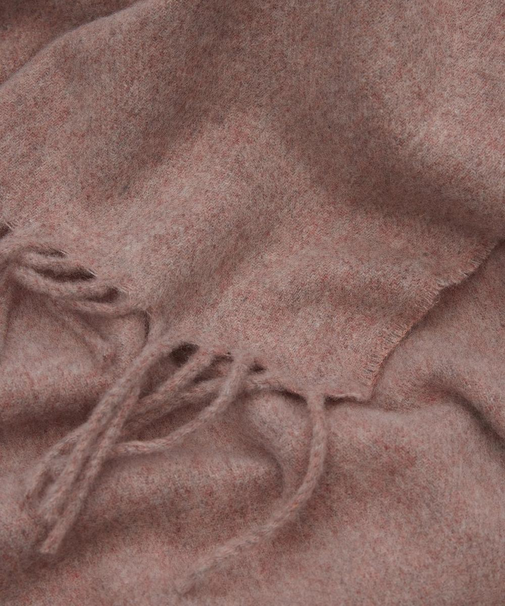 Canada Fringed Wool Scarf
