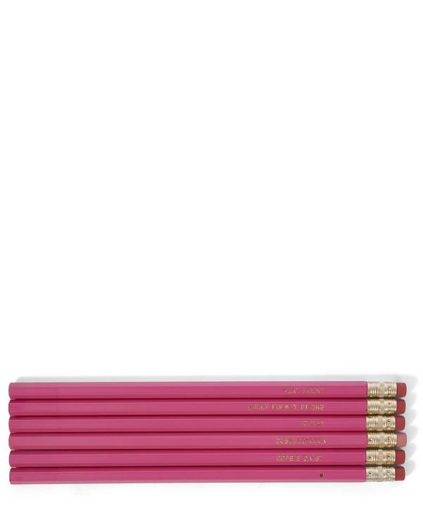 Girl Talk Pencil Set