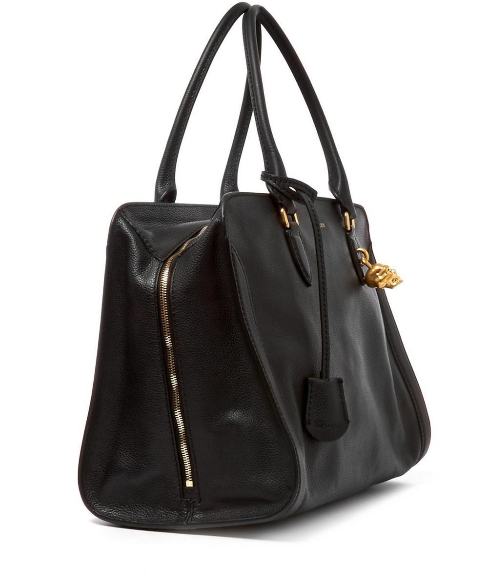 Large Padlock Leather Bag