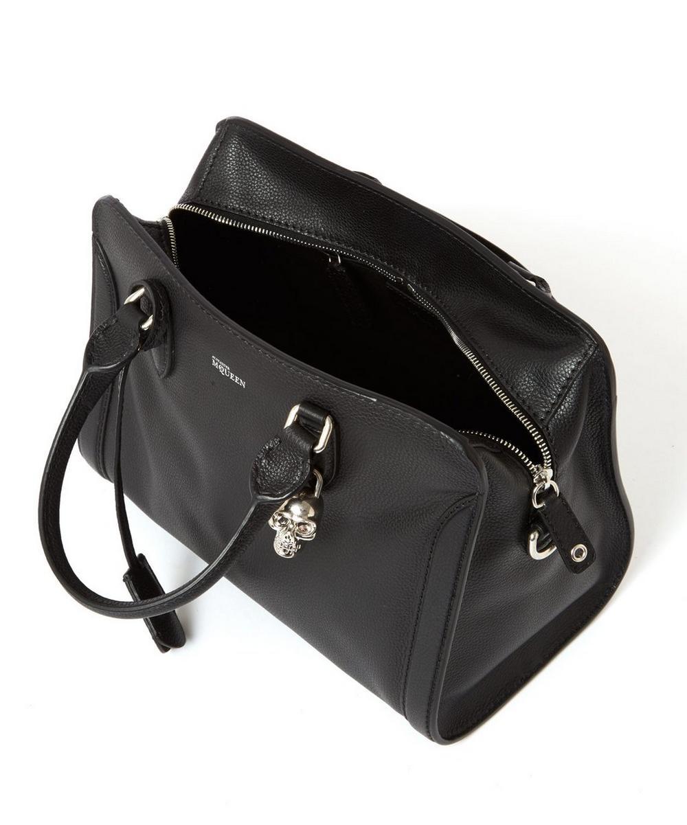 Small Padlock Leather Bag