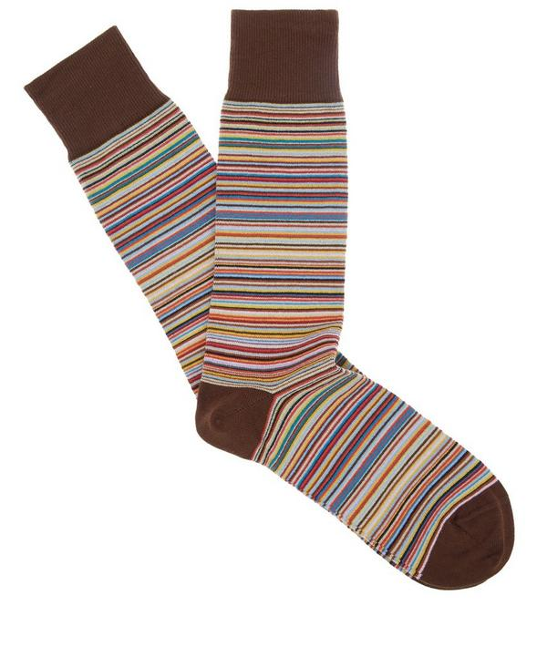 Multi Stripe Socks