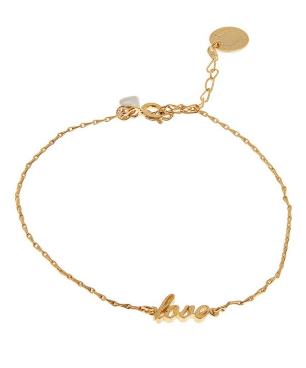 Extra Fine Gold Love Bracelet