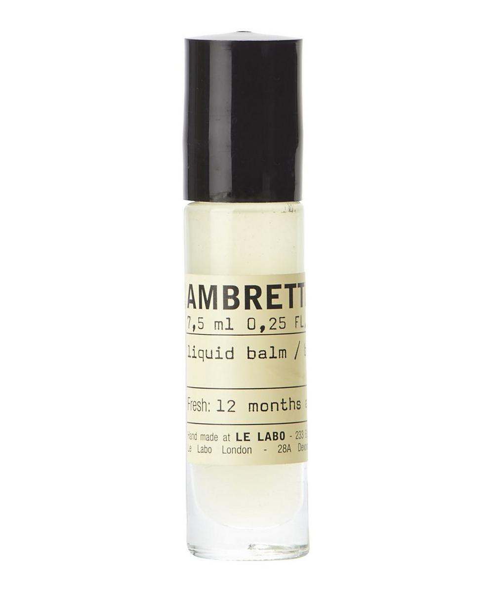 AMBRETTE 9 LIQUID BALM PERFUME 7.5ML