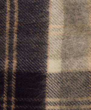 Woven Check Cashmere Scarf
