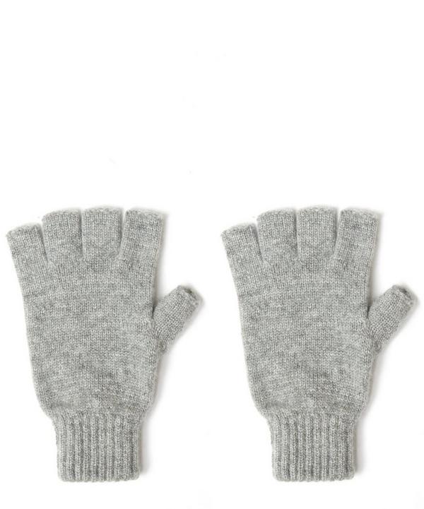 Fingerless Cashmere Gloves