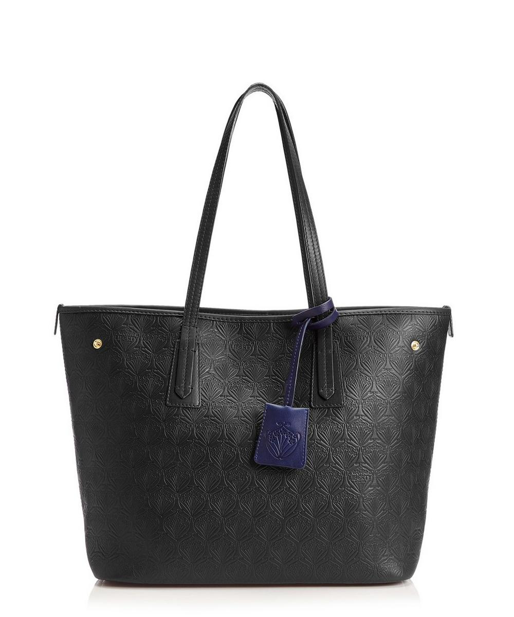 Iphis Leather Little Marlborough Small Tote Bag