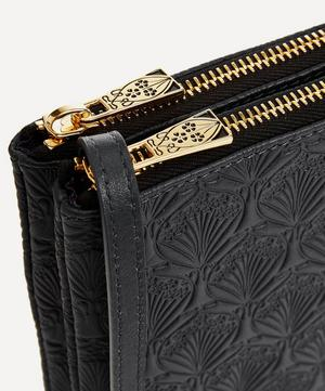 Bayley Duo Pouch in Iphis Embossed Leather