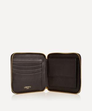Small Zip Around Wallet in Iphis Embossed Leather