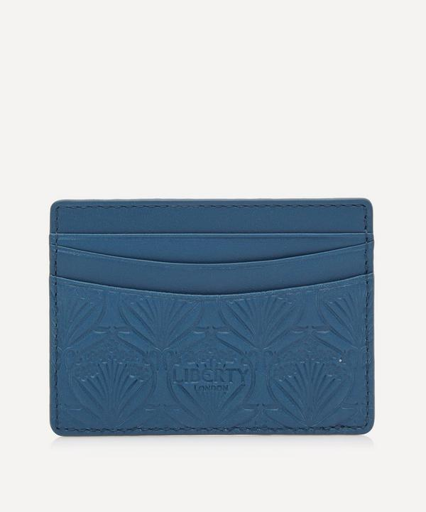 Card Holder in Iphis Embossed Leather