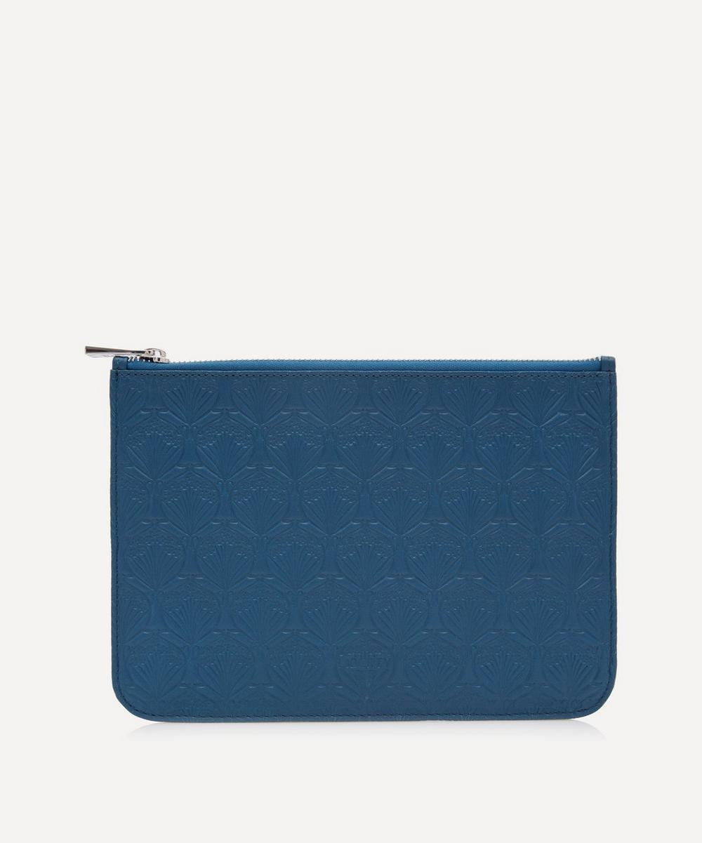 Medium Pouch in Iphis Embossed Leather