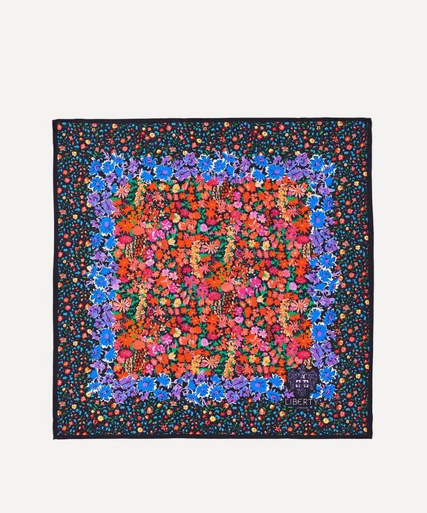 Floral Medley 45x45 Silk Neckerchief