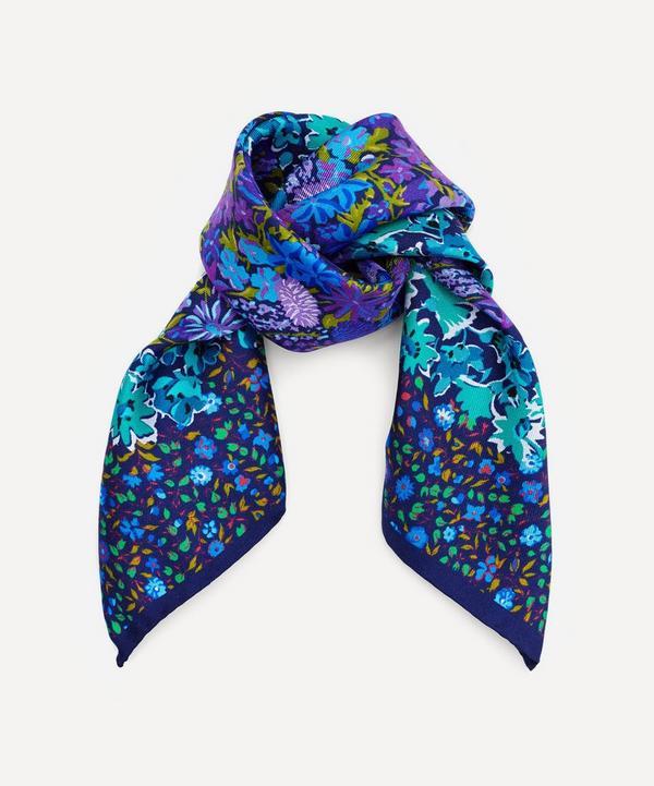 Liberty London Floral Medley Silk Neckerchief