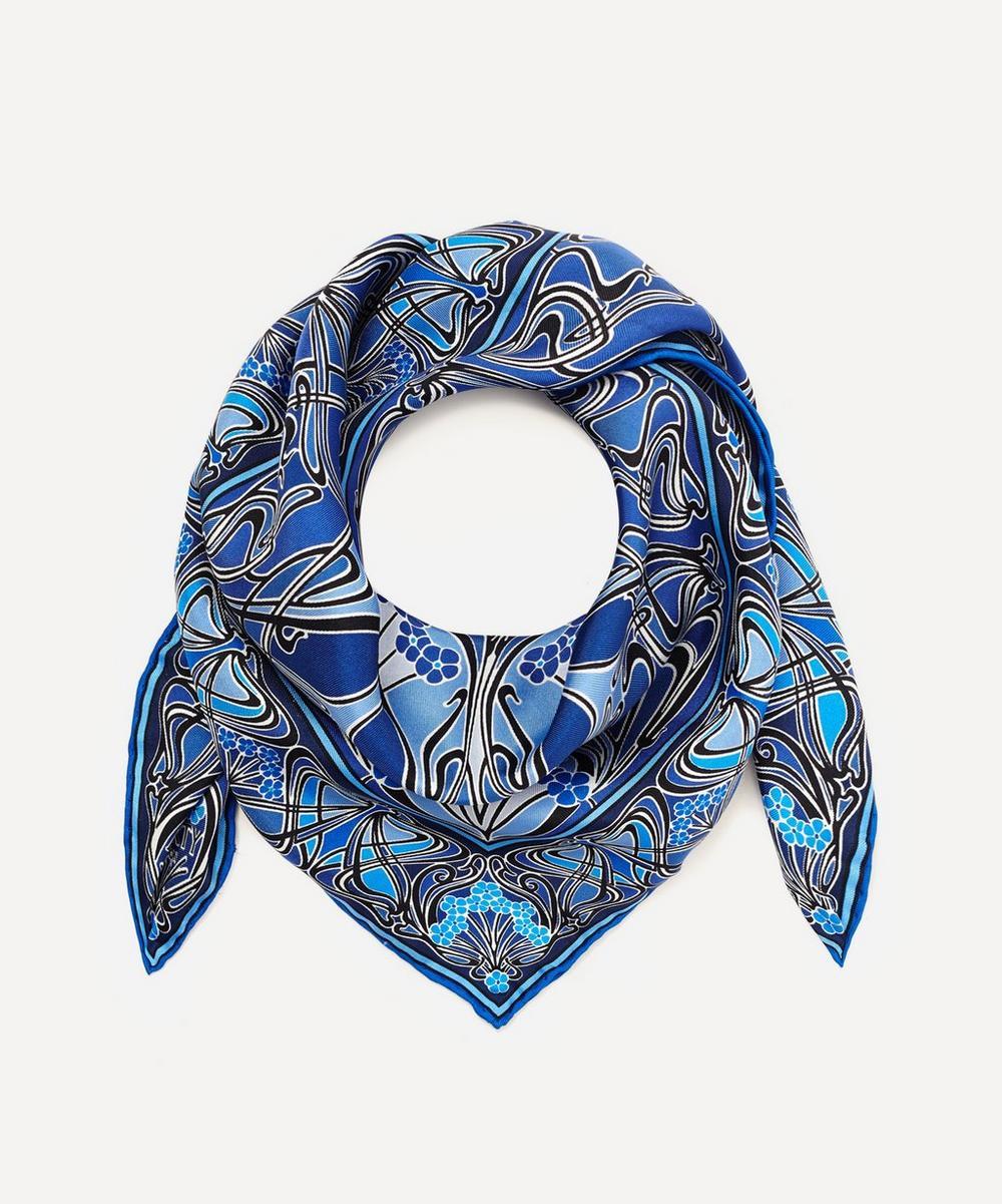 Liberty London New Ianthe Silk Scarf