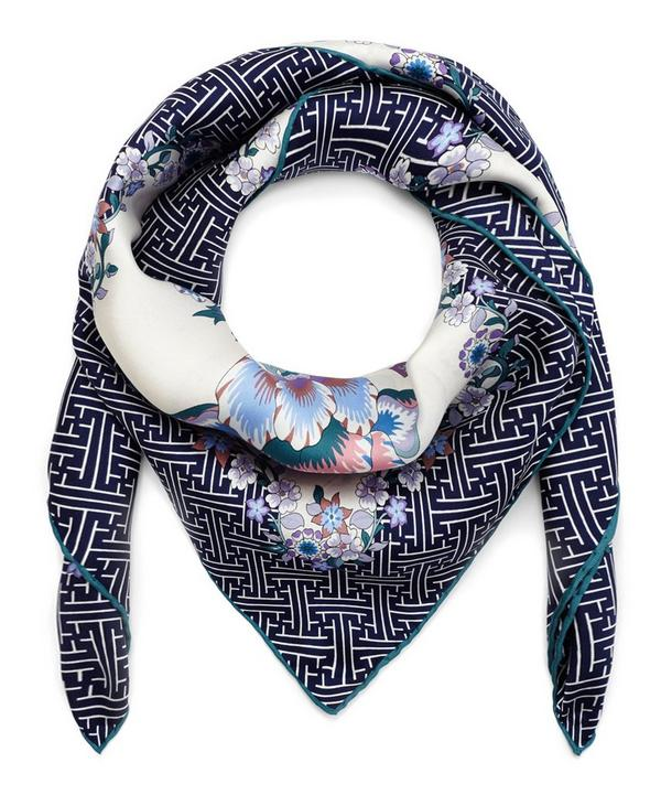 Liberty London Christelle Silk Twill Scarf