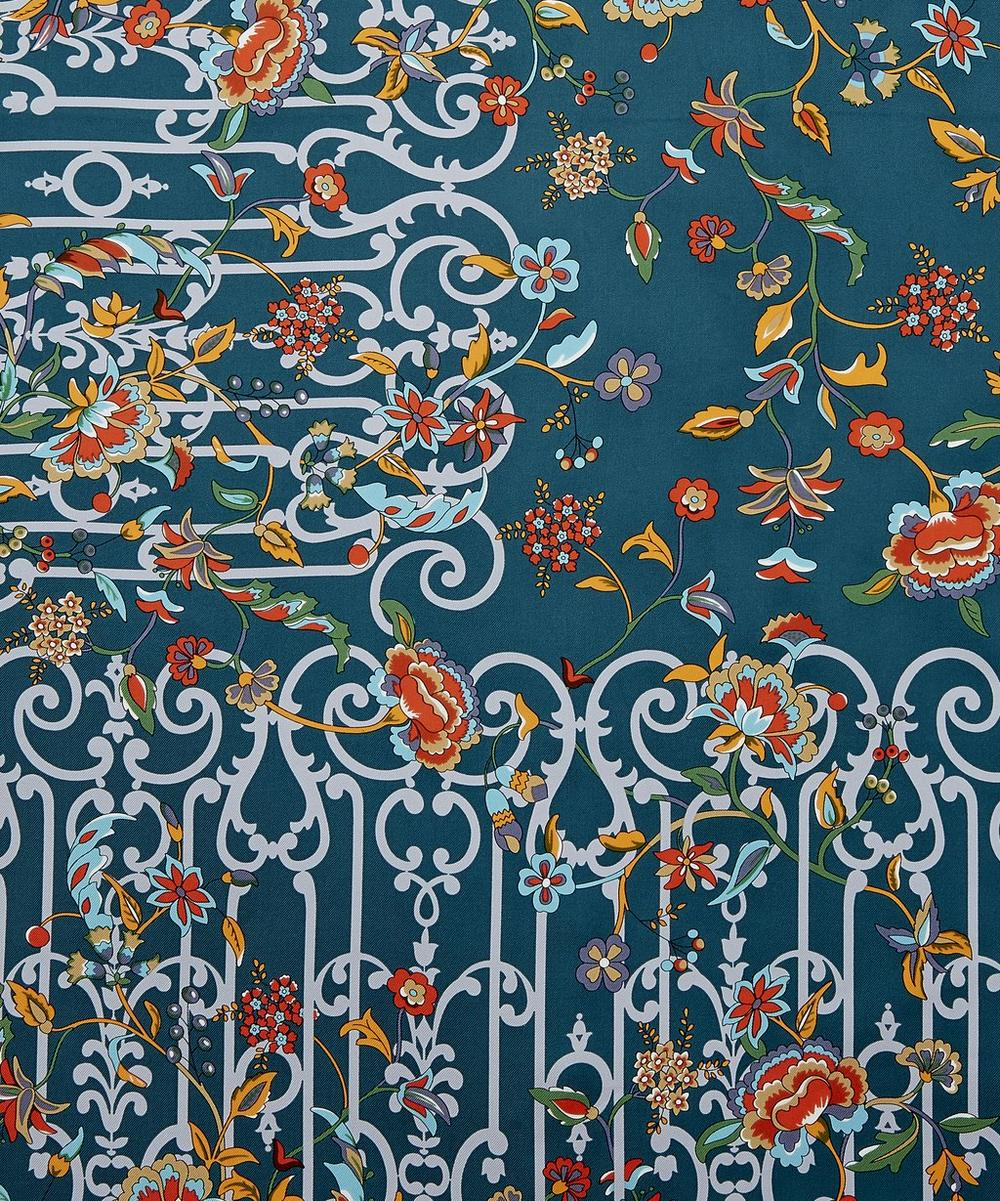 Garden Gates 90 x 90 Silk Scarf