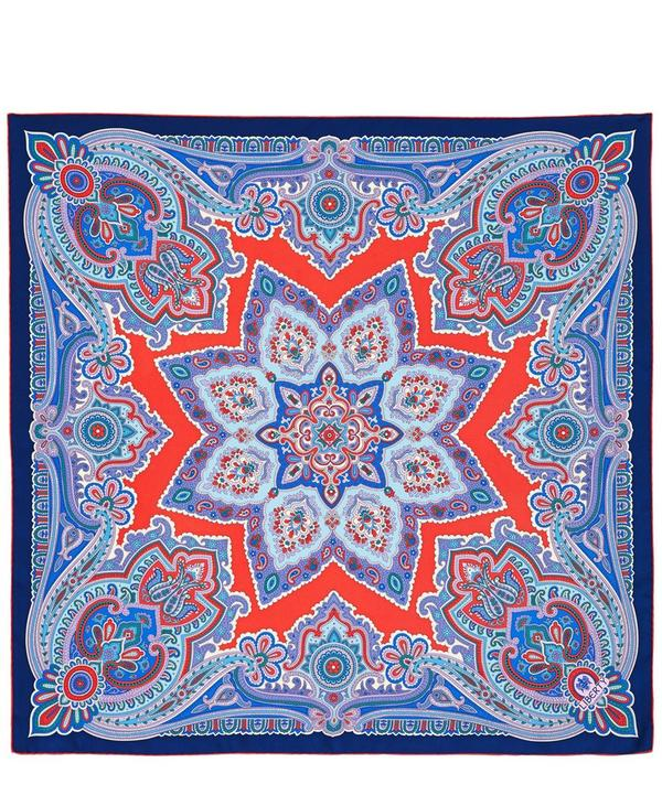 Paisley Star Silk Scarf