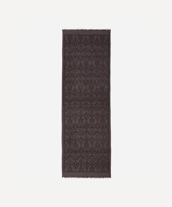 Ianthe Jacquard Wool-Blend Scarf