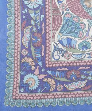 Peacock Garden 70 x 180 Silk Scarf