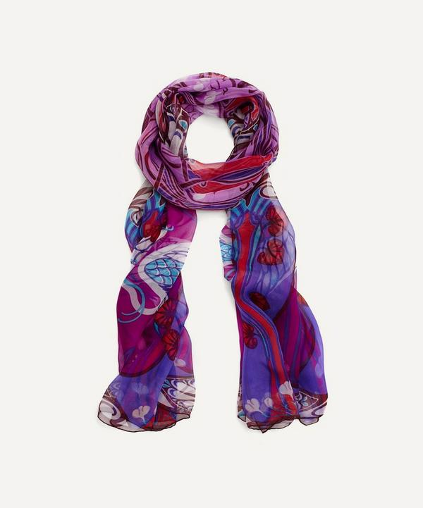 Liberty London Heron Chiffon Scarf