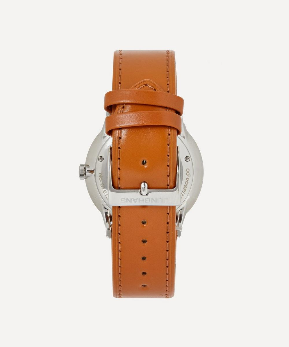 Meister Chronoscope Leather Strap Watch