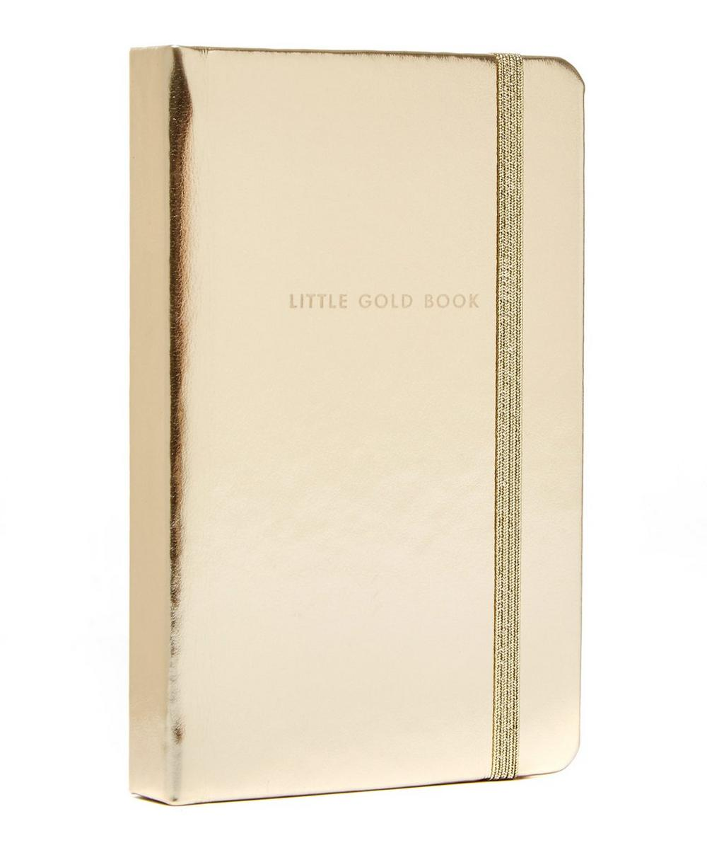 Medium Little Gold Book Notebook