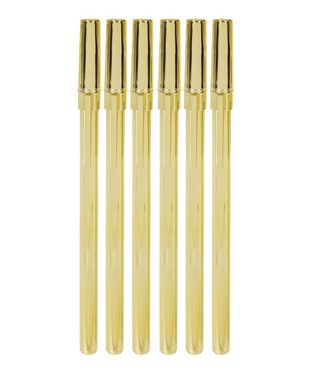 Strike Gold Ballpoint Pen Set
