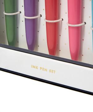 So Well Composed Colourful Ballpoint Pen Set