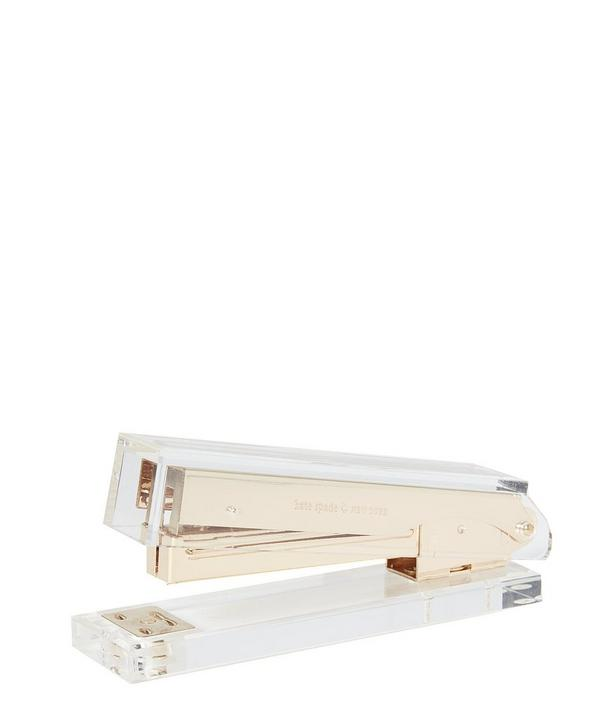 Clear Keep It Together Acrylic Stapler