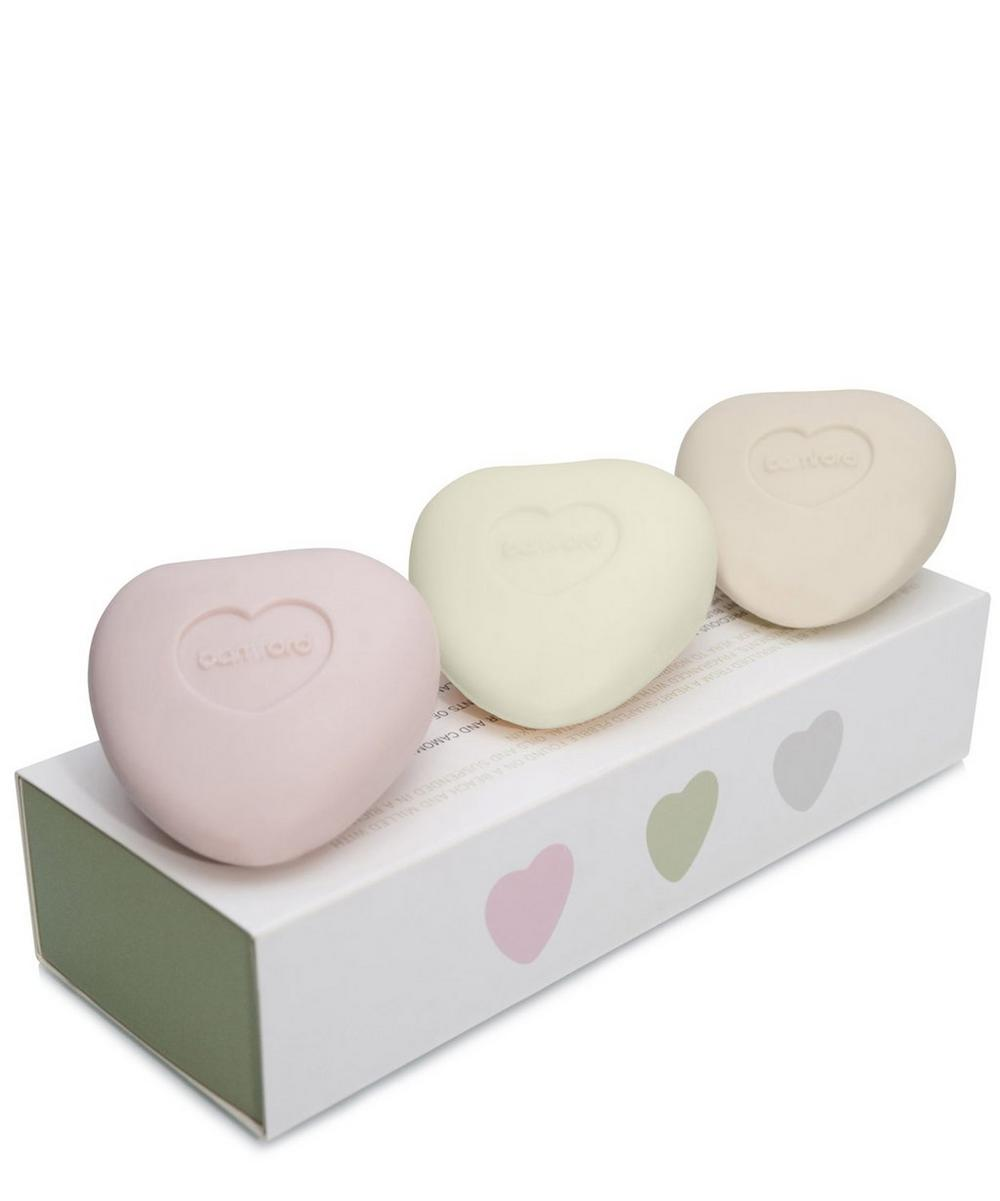 Mini Pebble Heart Soap Set