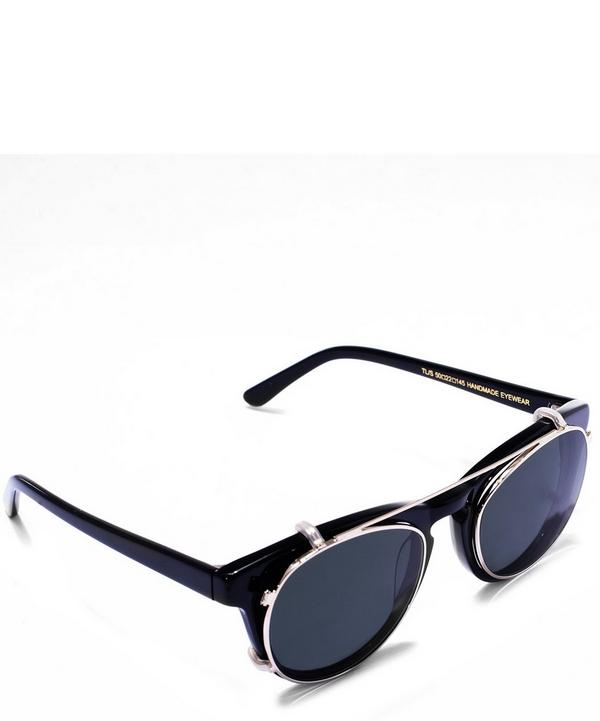 Timeless Round Clip On Sunglasses