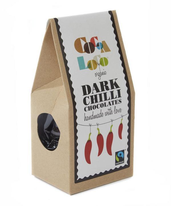 Organic Dark Chilli Chocolates 100g