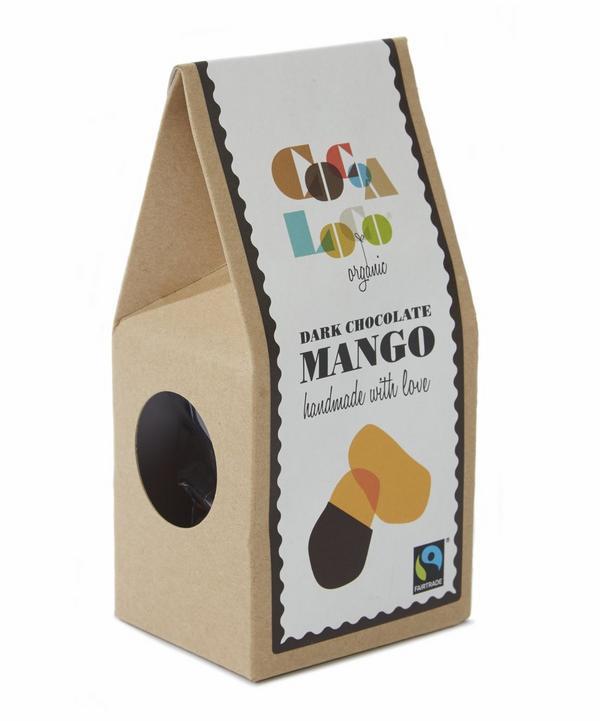 Organic Dark Chocolate Mango 110g