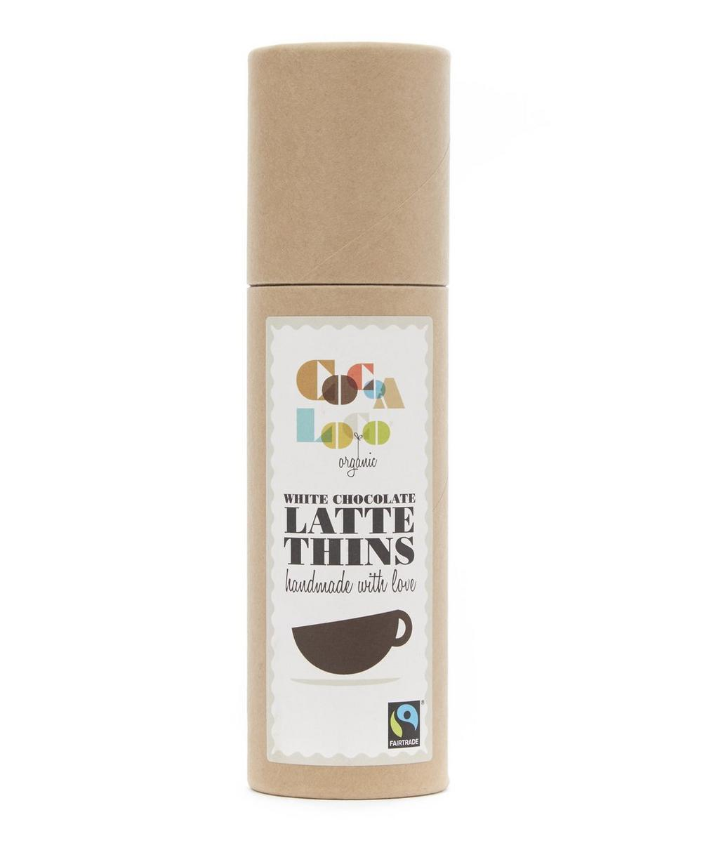White Chocolate Latte Thins 170g