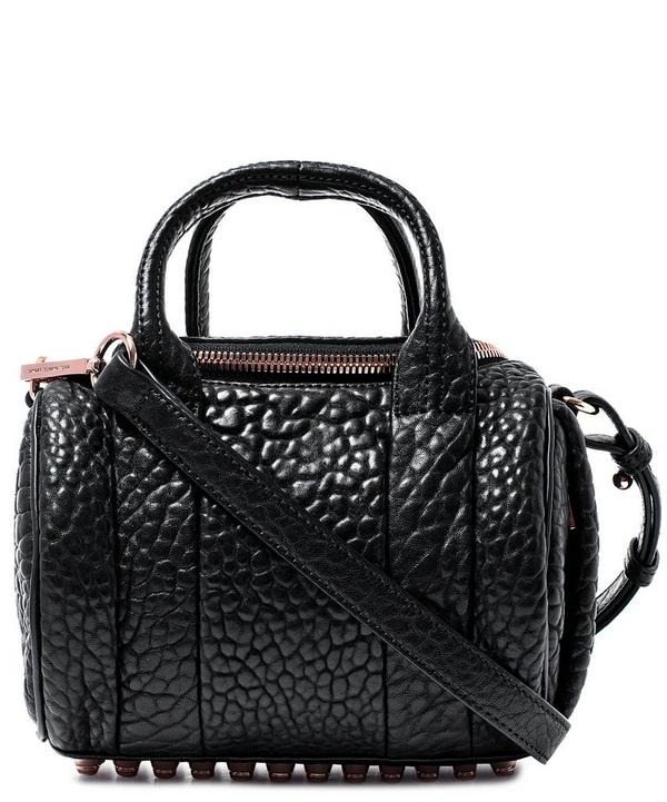 Mini Rockie Pebbled Leather Bag