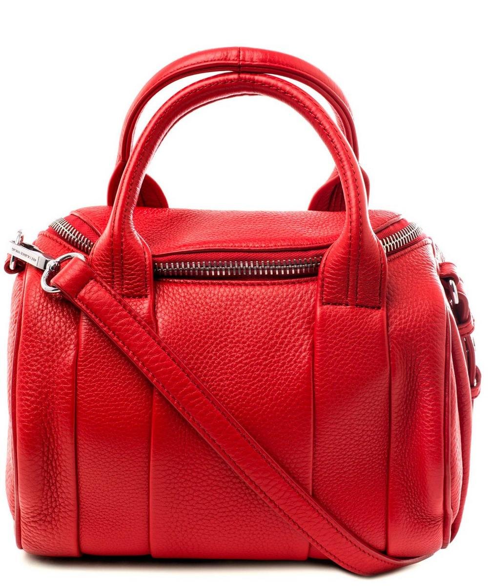 Rockie Pebbled Cult Leather Bag