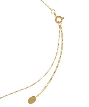 18ct Gold Teeny Tiny Dragonfly Fine Chain Necklace