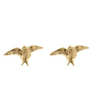 18ct Gold Teeny Tiny Swallow Stud Earrings