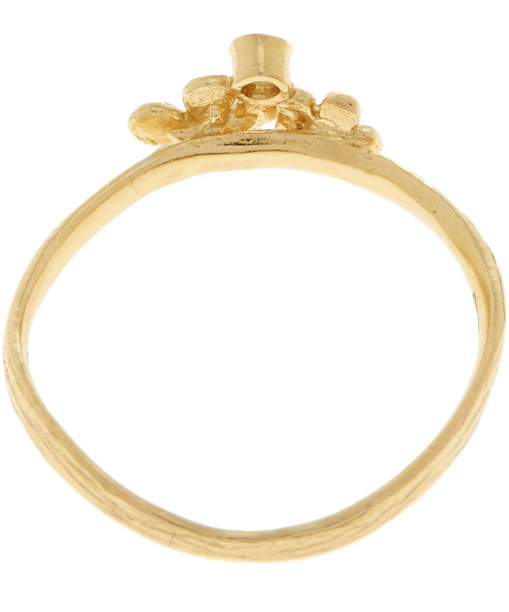 18ct Gold Diamond Heritage Ring Three
