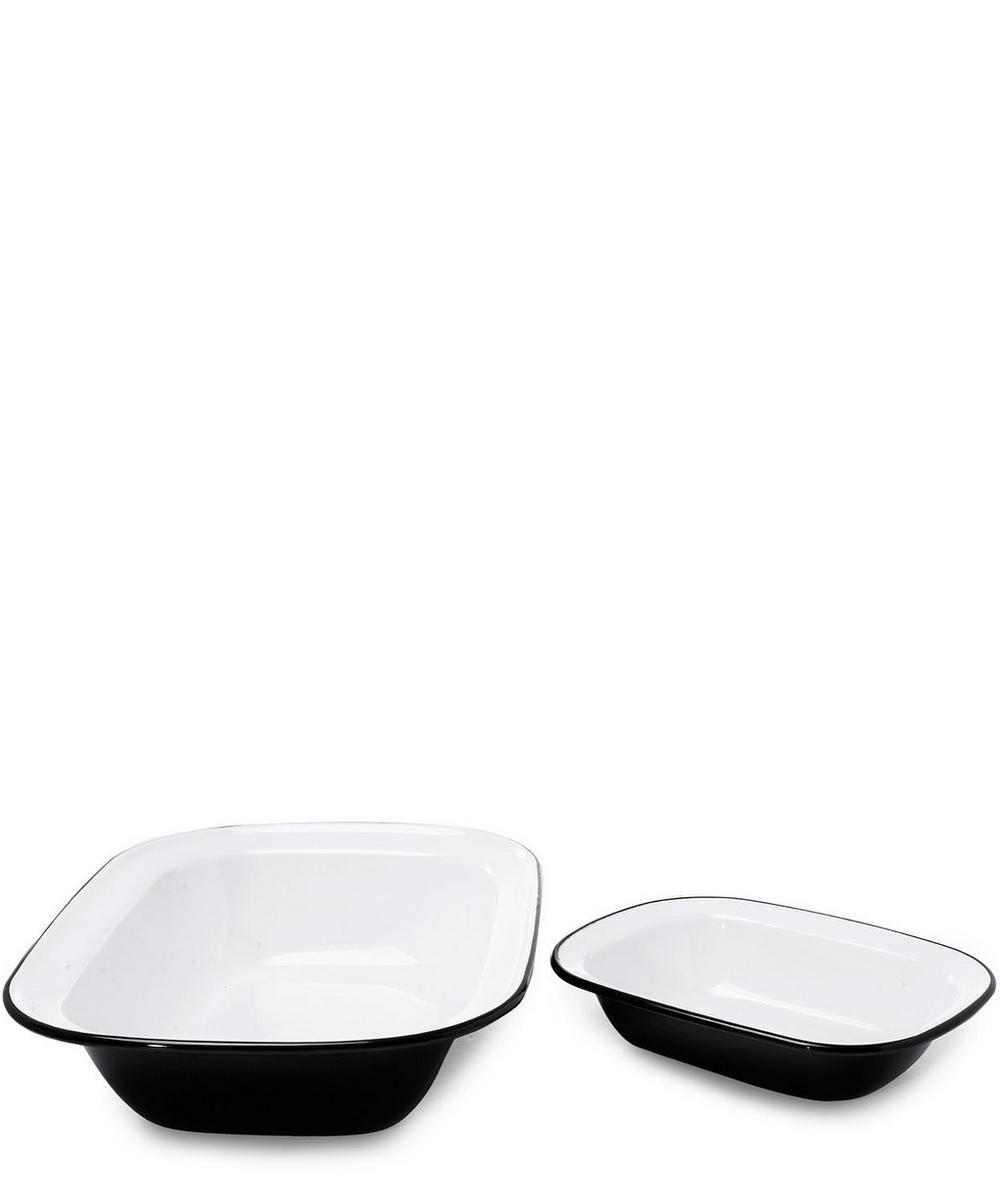 Enamel Pie Dish Set