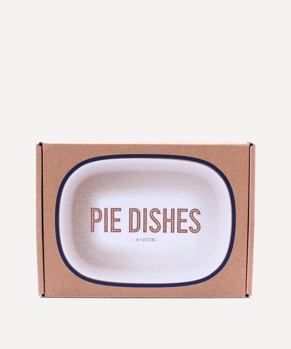 Enamel Pie Dish Set