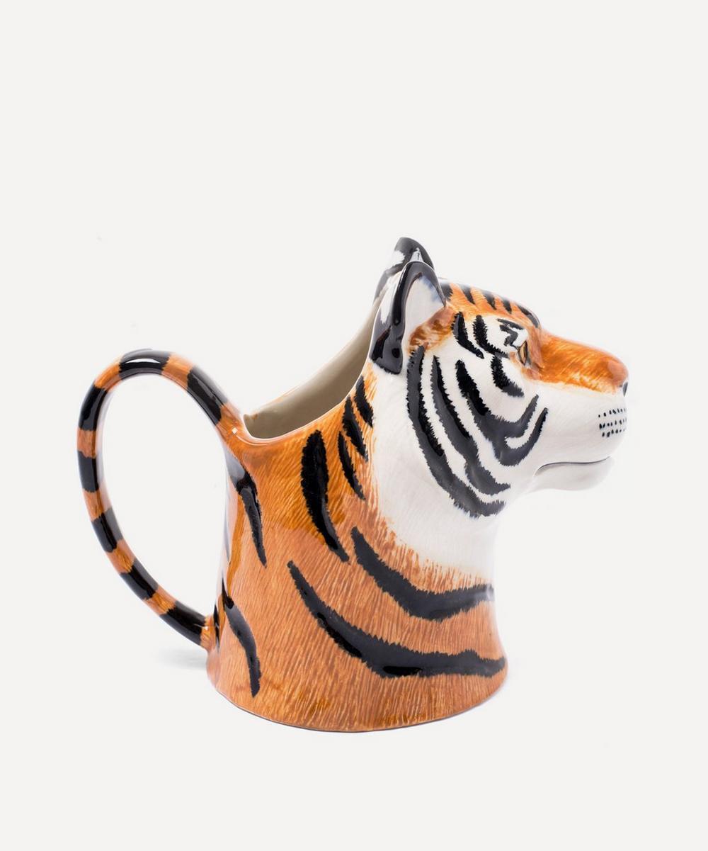 Tiger Stoneware Jug