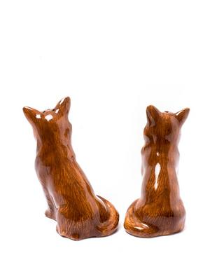 Chihuahua Stoneware Salt and Pepper Shakers