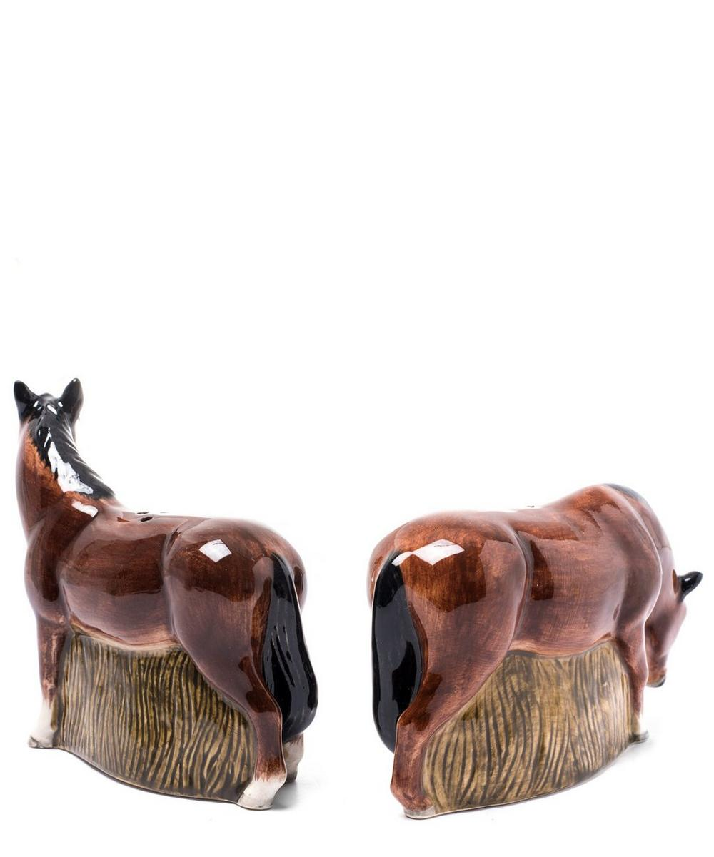 New Forest Pony Stoneware Salt and Pepper Shakers