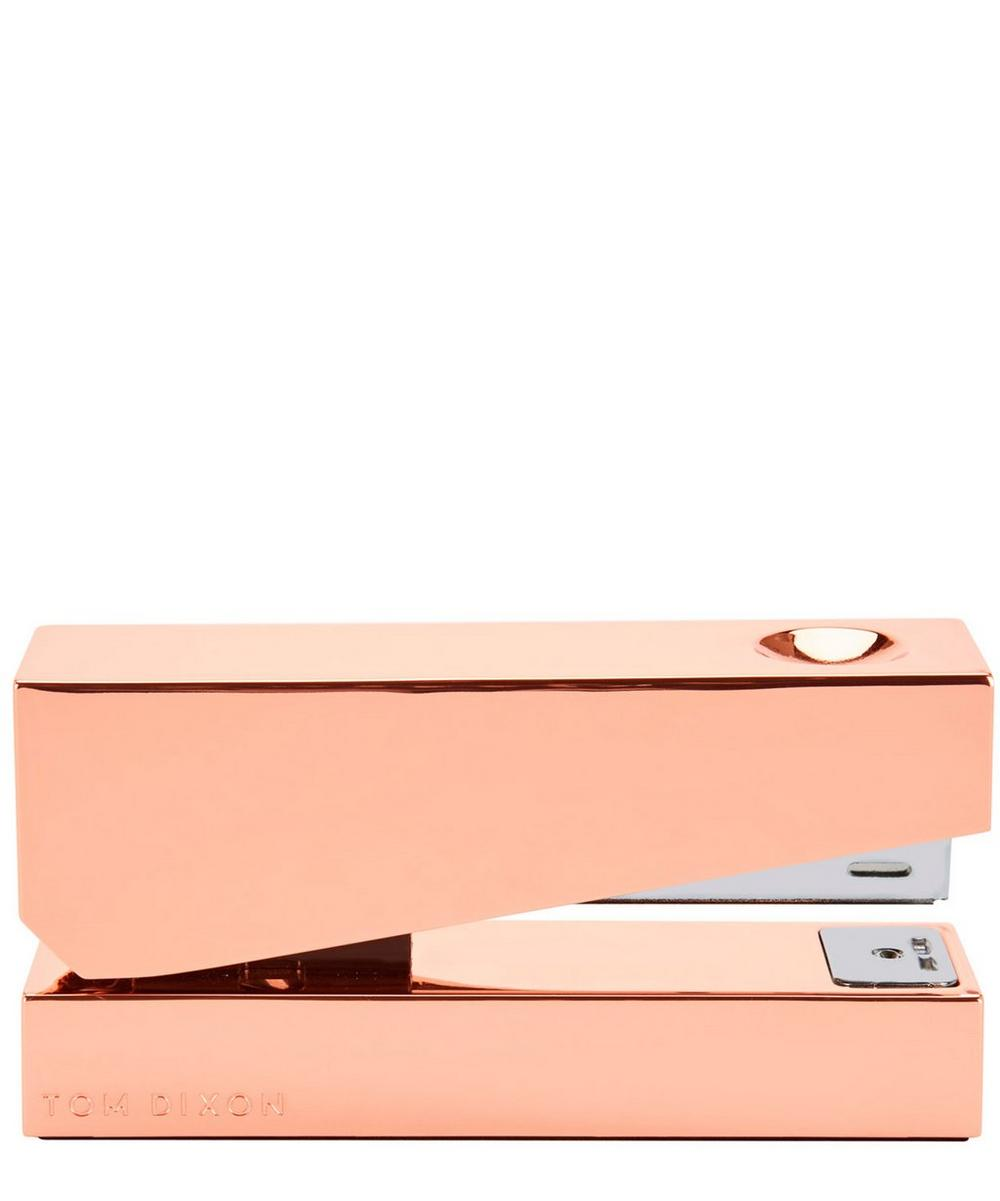 Copper-Plated Cube Stapler