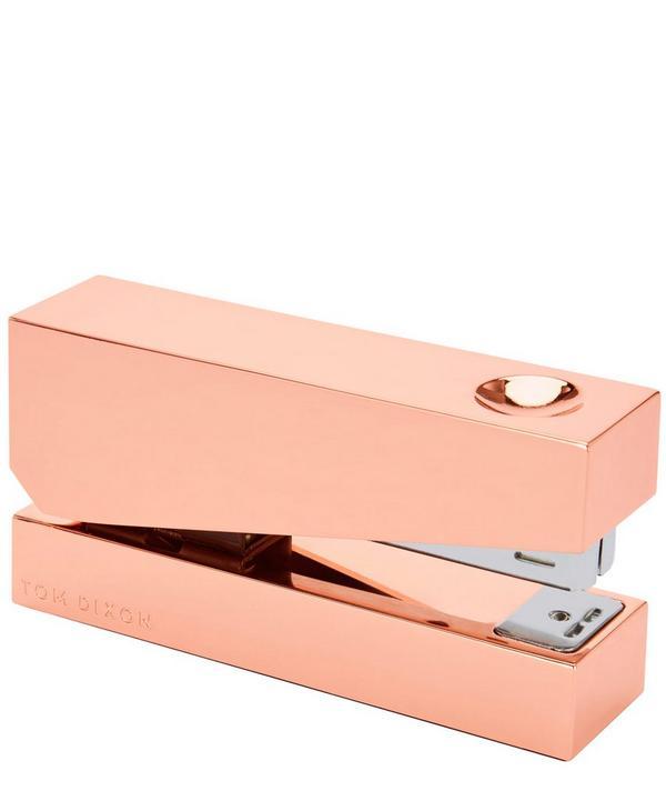 Copper-Plated Cube Stapler