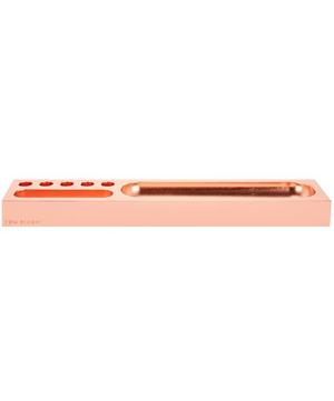 Copper-Plated Cube Desk Tidy Tray