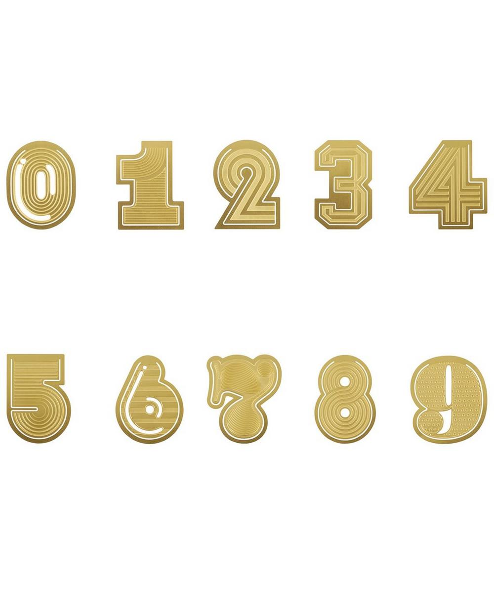 Gold-Tone Tool the Clip Number Paperclips