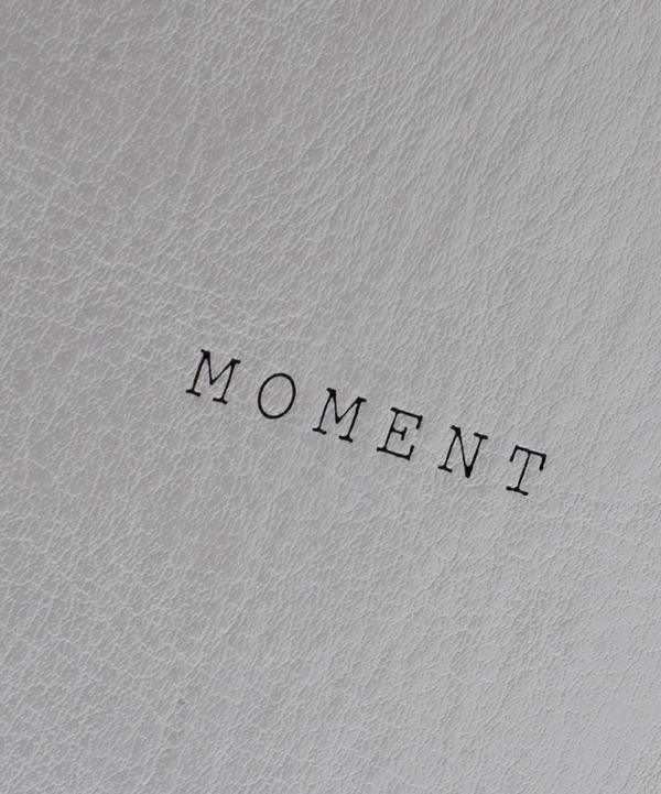 Leather Bound Moment Planner